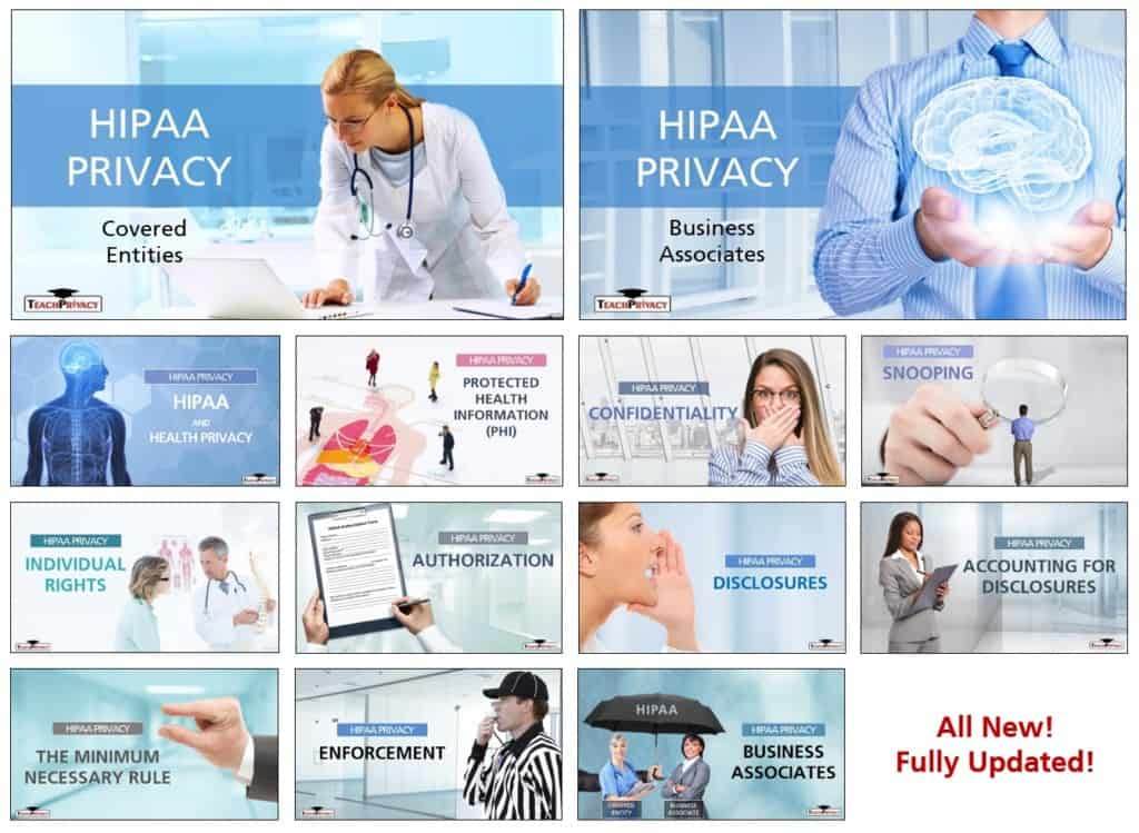TeachPrivacy HIPAA Training New HIPAA Courses 03