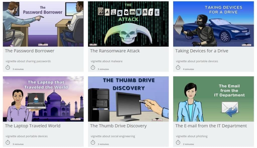Data Security Vignettes