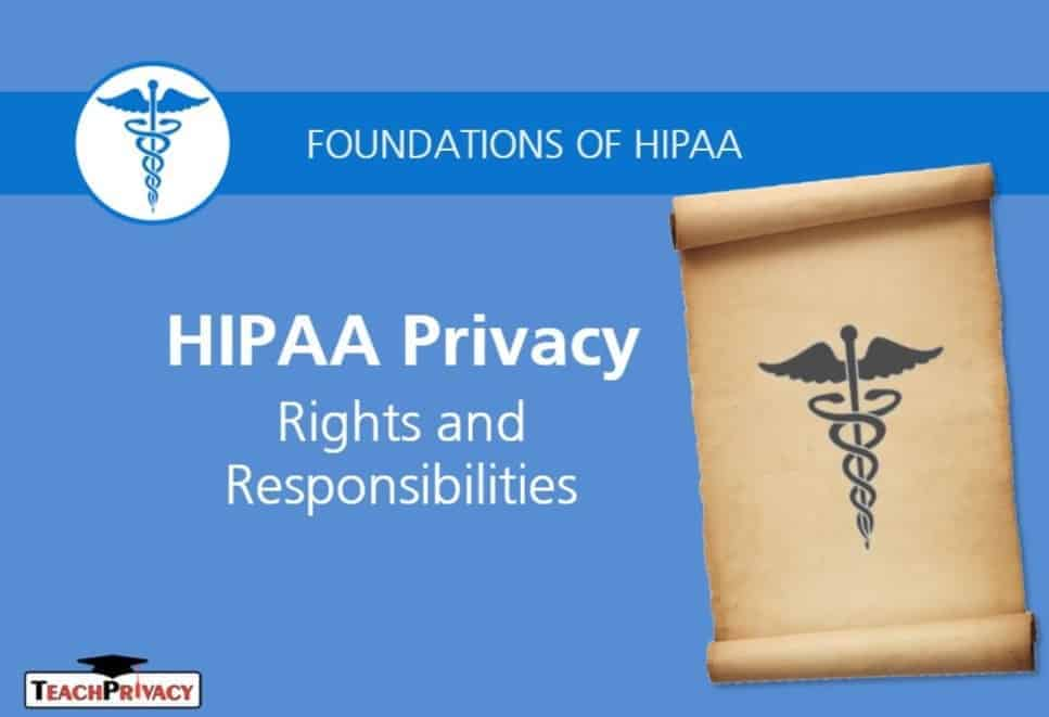 HIPAA Certificate Training Rights and Responsibilities Title No Module 2