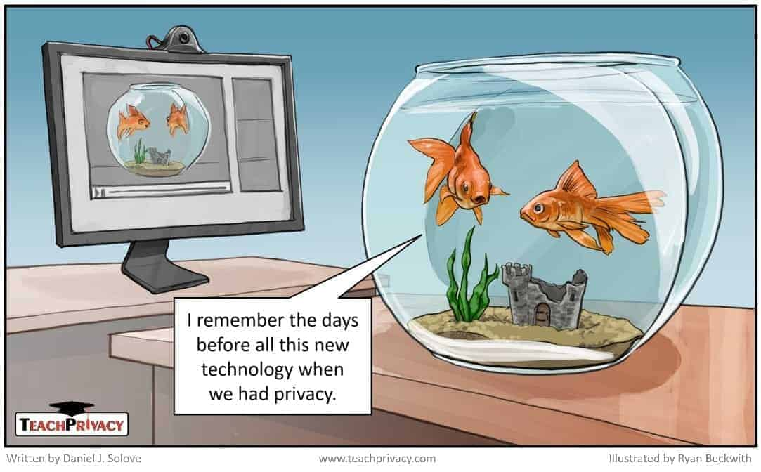 Cartoon Privacy and Technology - TeachPrivacy Privacy Training