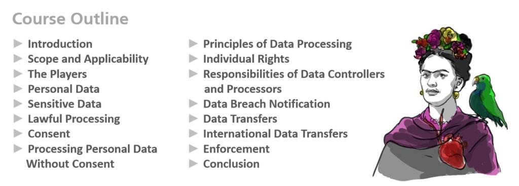 Mexico Federal Privacy Law Course Outline