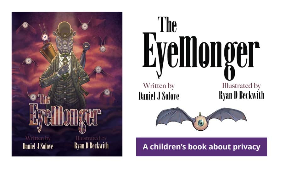 The Eyemonger - children's book about privacy
