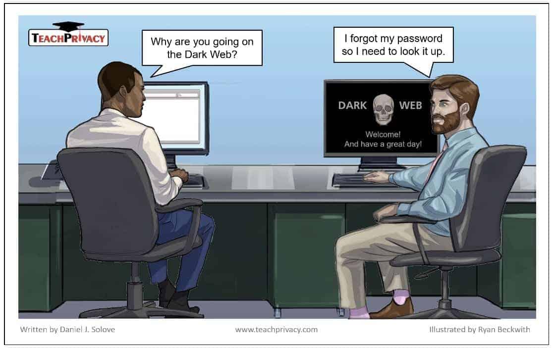Cartoon Dark Web - TeachPrivacy Security Training 03 medium