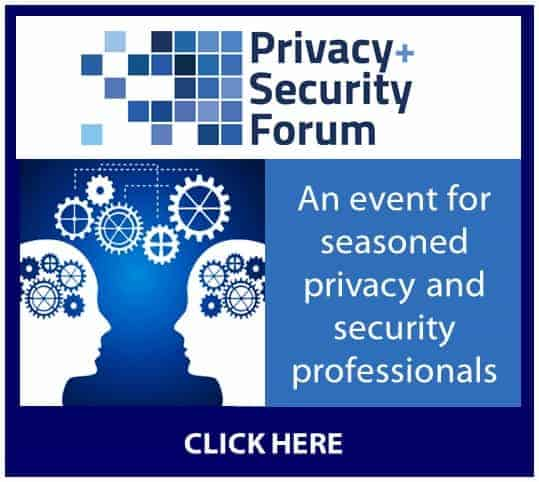 Privacy+Security Forum