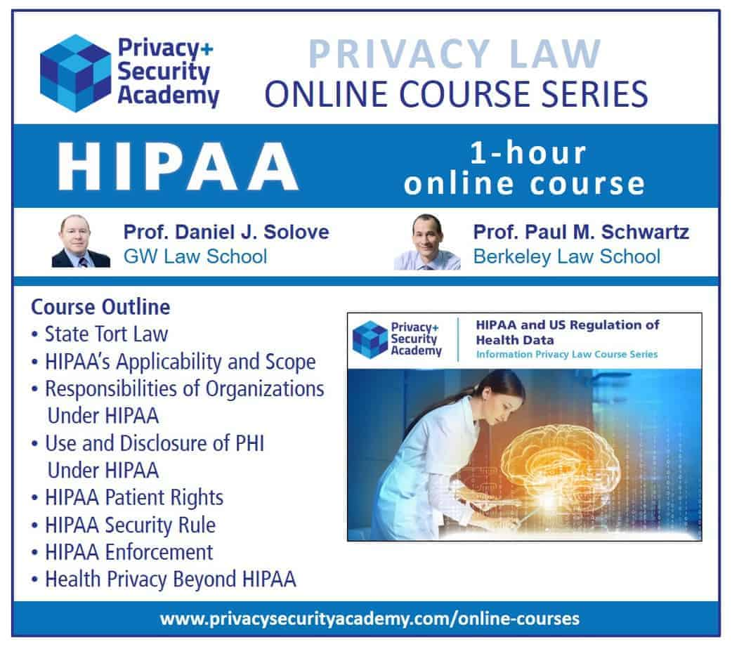 Online HIPAA Course