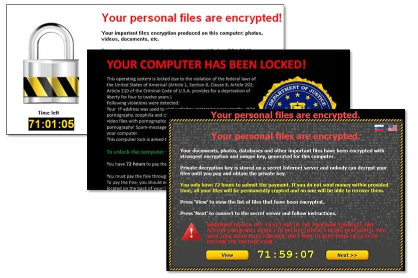 Ransomware security training