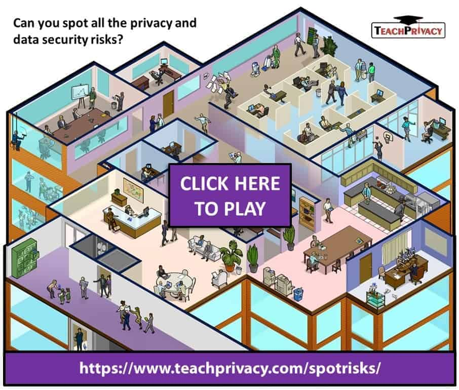 Spot the Risks Privacy and Information Security Awareness Training 04