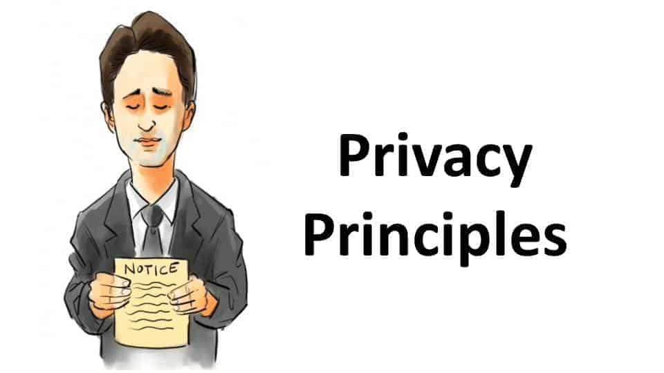 Video Title Page Privacy Principles