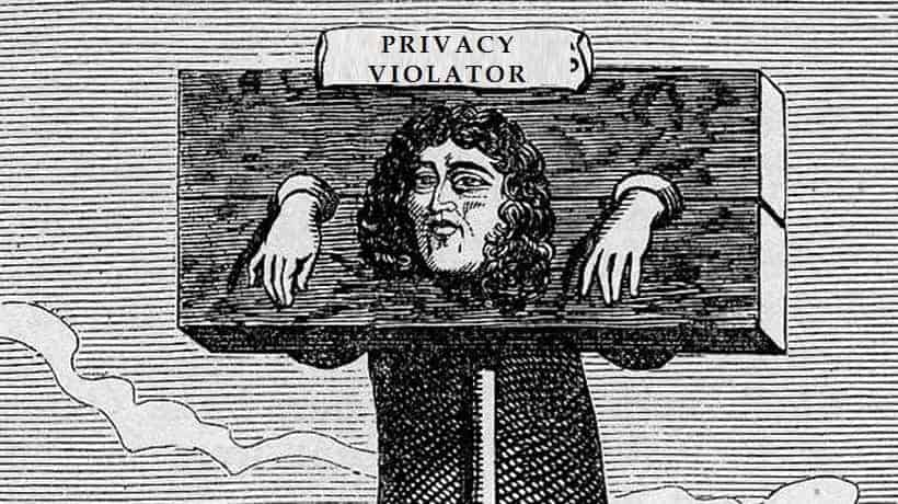 privacy pillory